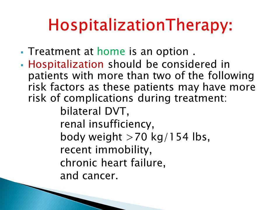 :HospitalizationTherapy