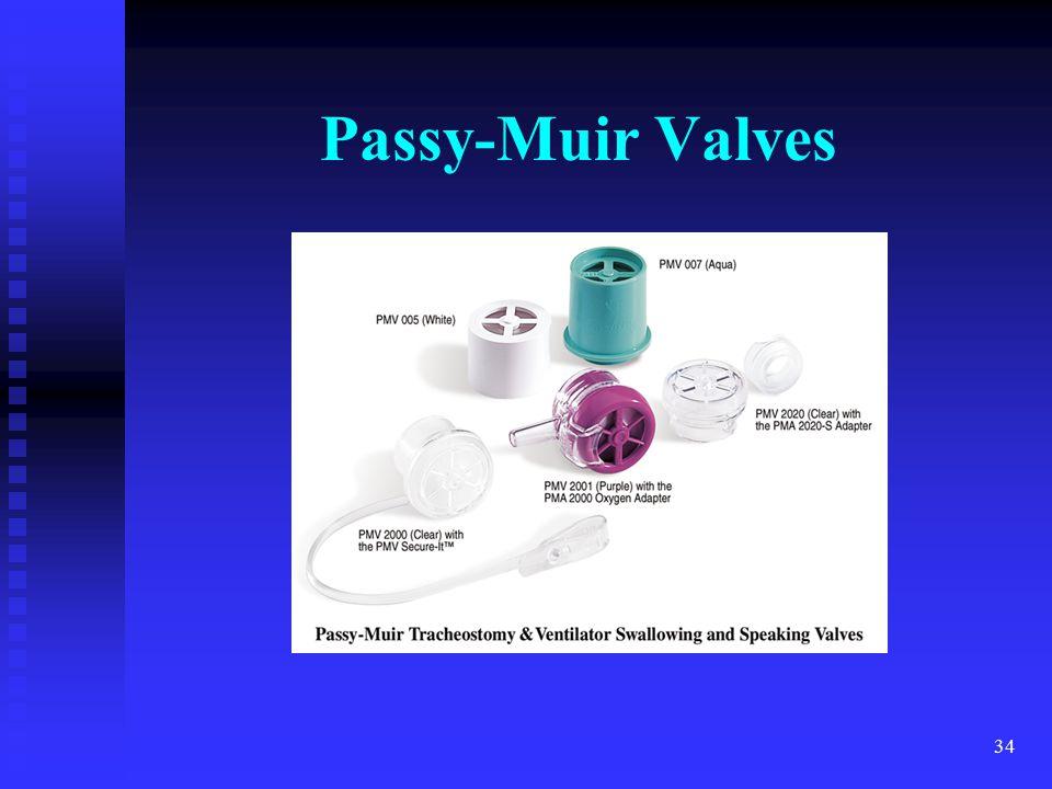 Passy-Muir Valves trach MTL 4