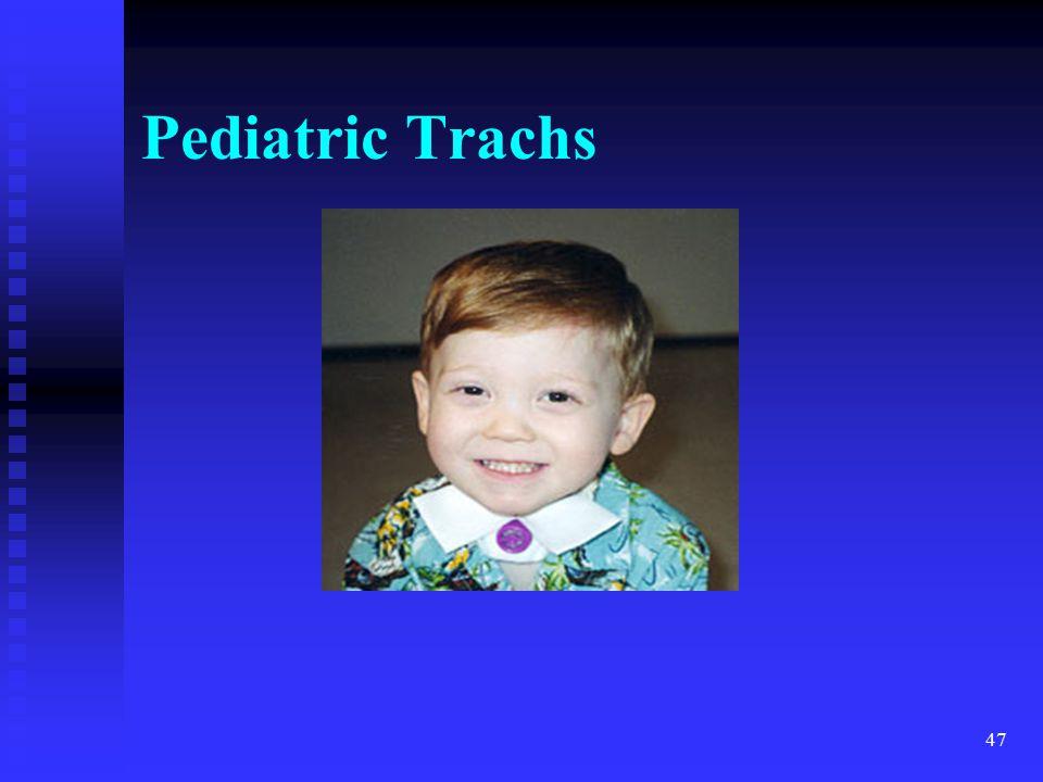 Pediatric Trachs trach MTL 4