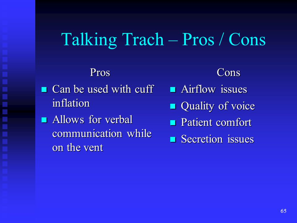 Talking Trach – Pros / Cons