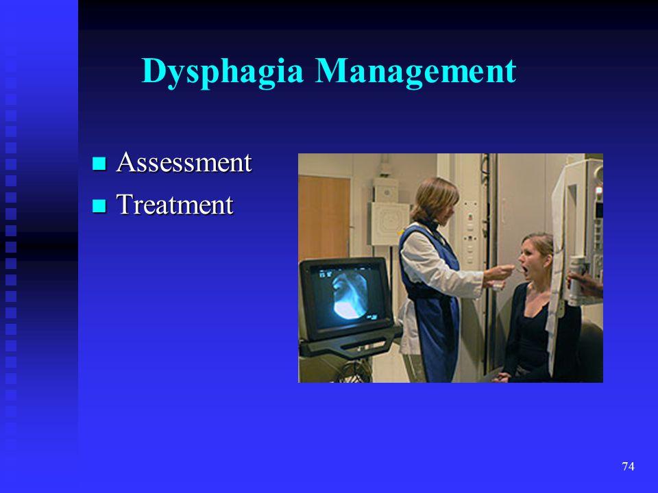 Dysphagia Management Assessment Treatment trach MTL 4