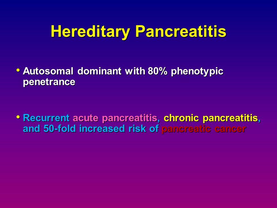 Hereditary Pancreatitis