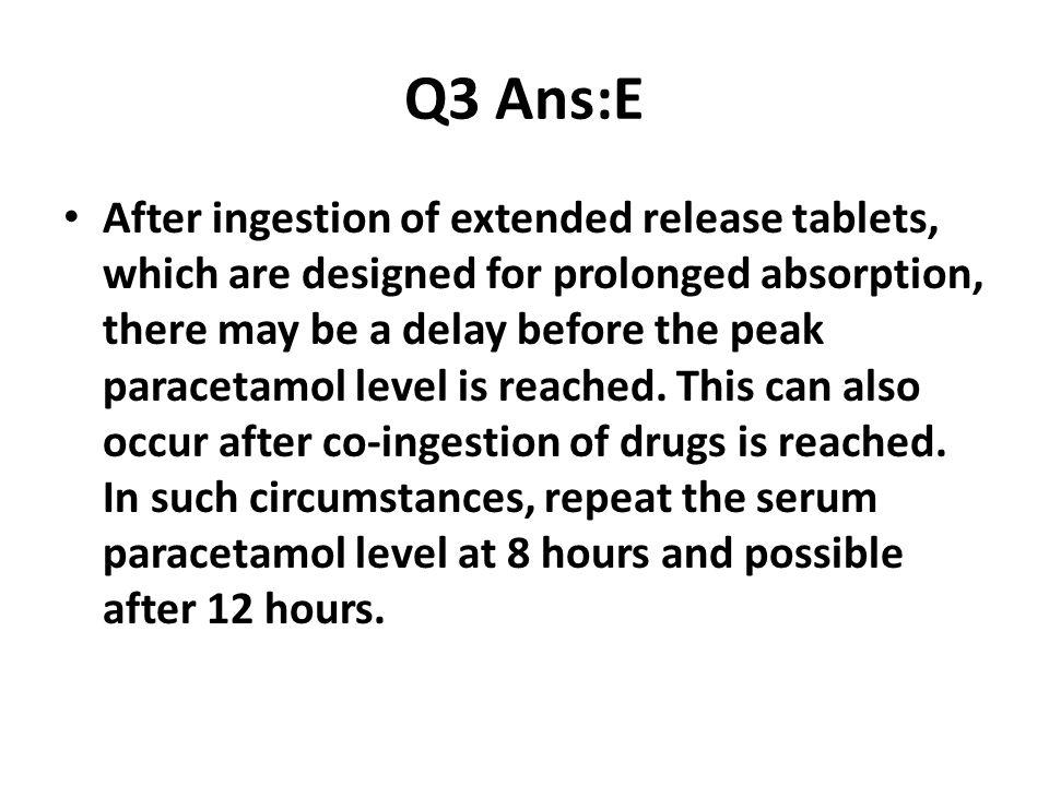Q3 Ans:E