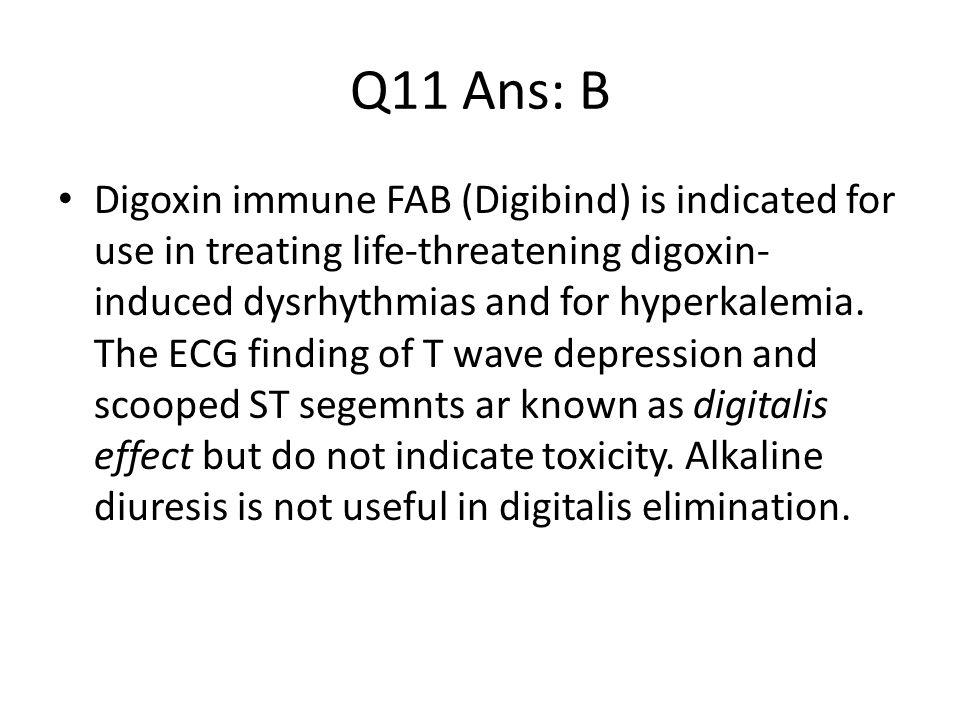 Q11 Ans: B
