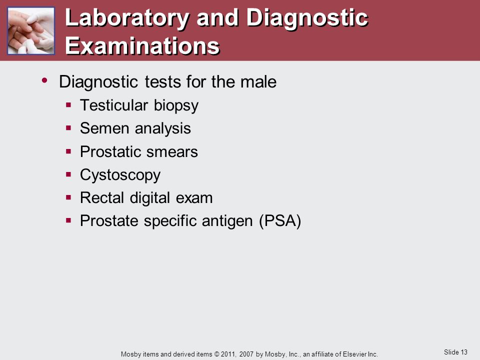 Laboratory and Diagnostic Examinations