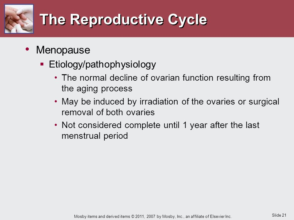 The Reproductive Cycle