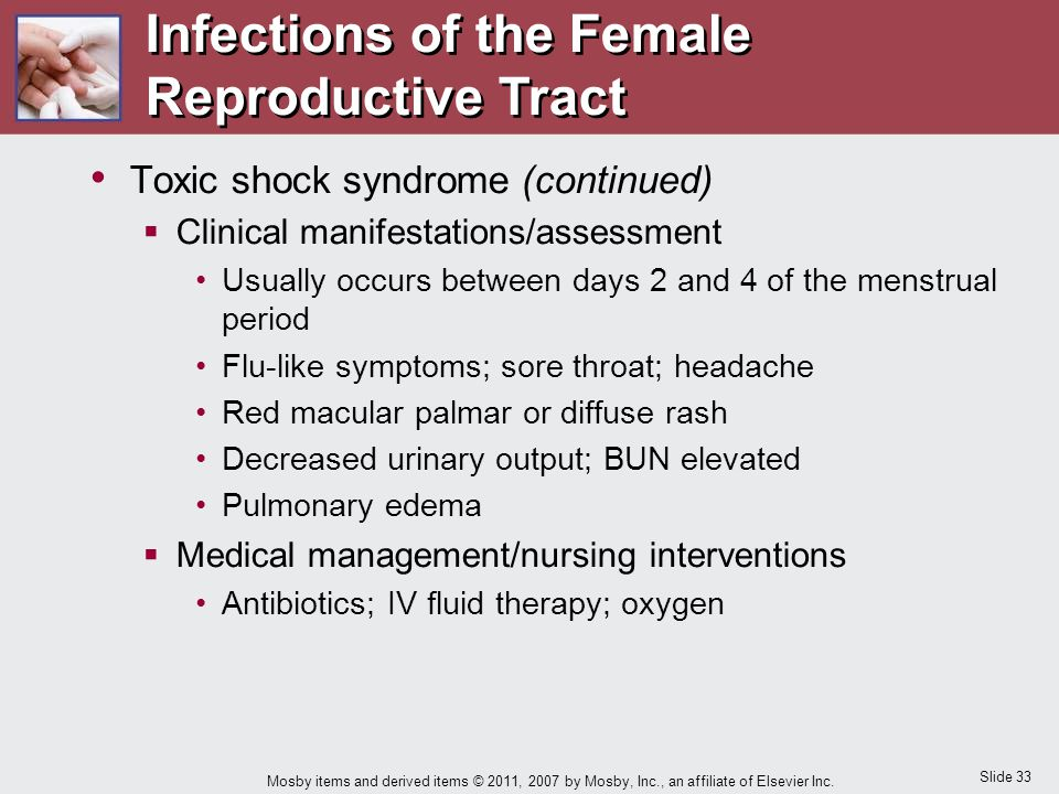 Infections of the Female Reproductive Tract