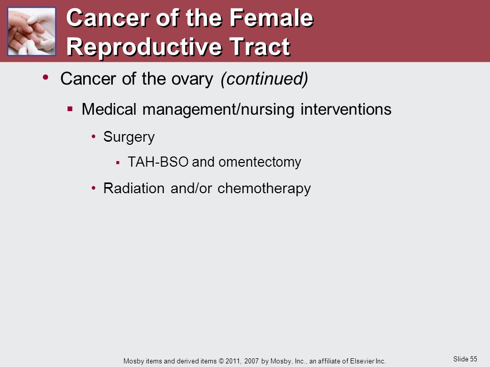 Cancer of the Female Reproductive Tract