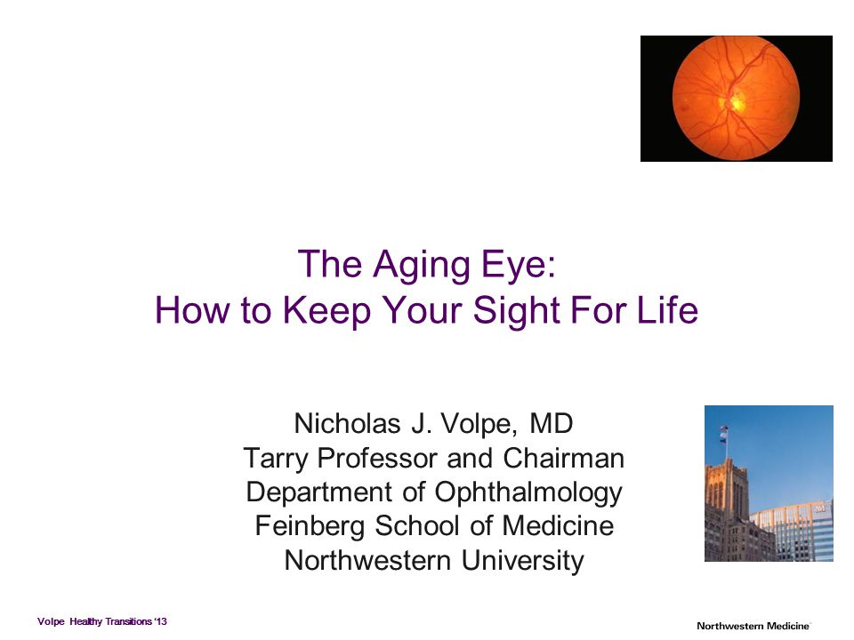 How to Keep Your Sight For Life