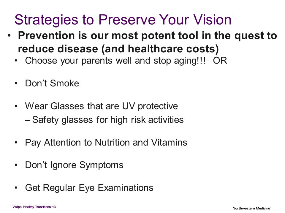 Strategies to Preserve Your Vision