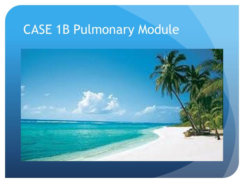 CASE 1B Pulmonary Module