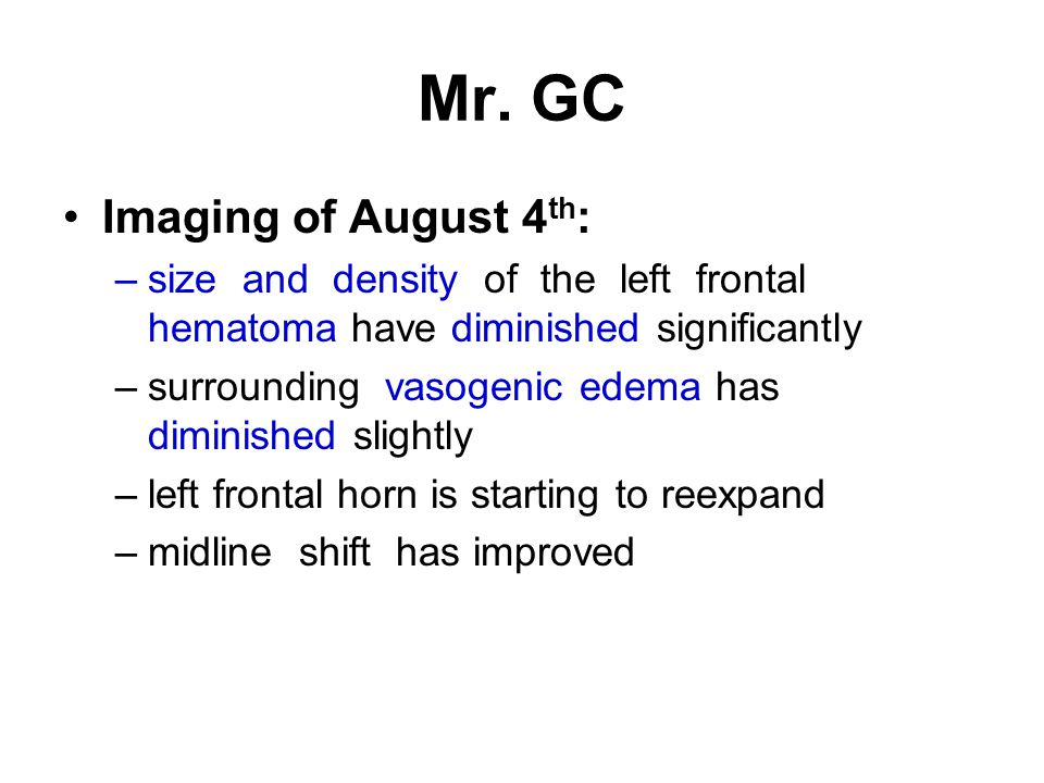 Mr. GC Imaging of August 4th: