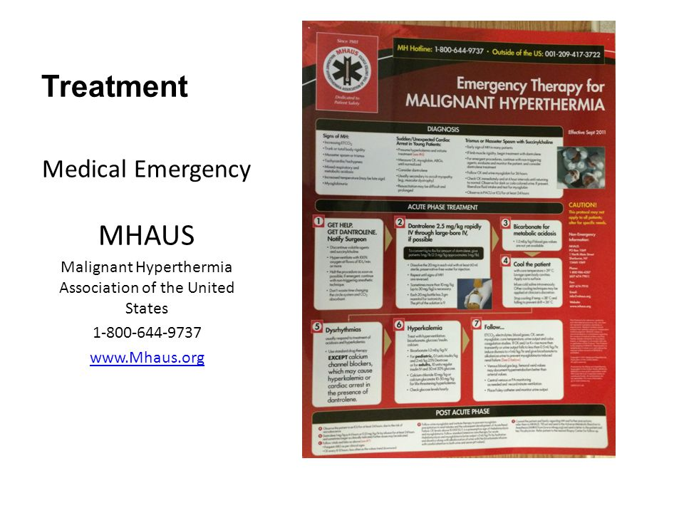 Malignant Hyperthermia Association of the United States