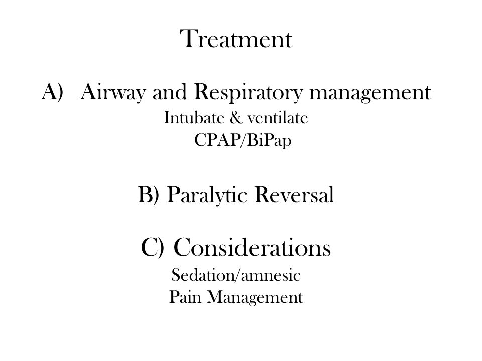 Airway and Respiratory management