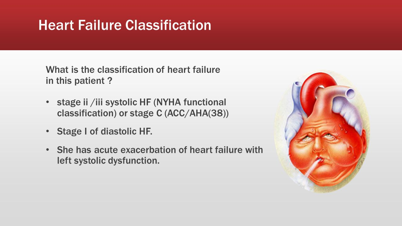 Heart Failure Classification