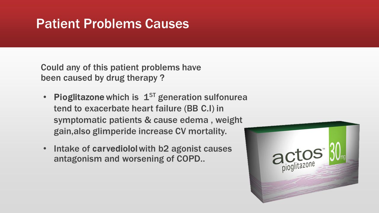 Patient Problems Causes