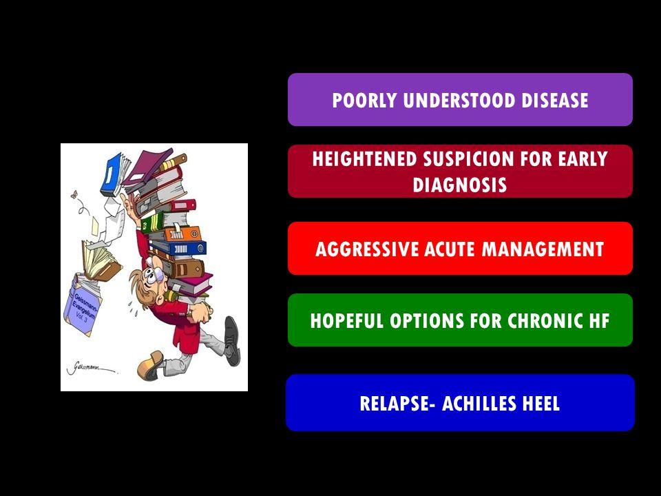 POORLY UNDERSTOOD DISEASE