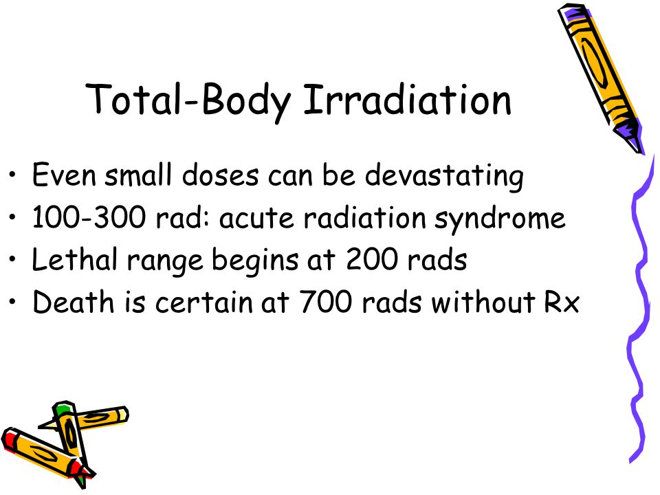 Total-Body Irradiation