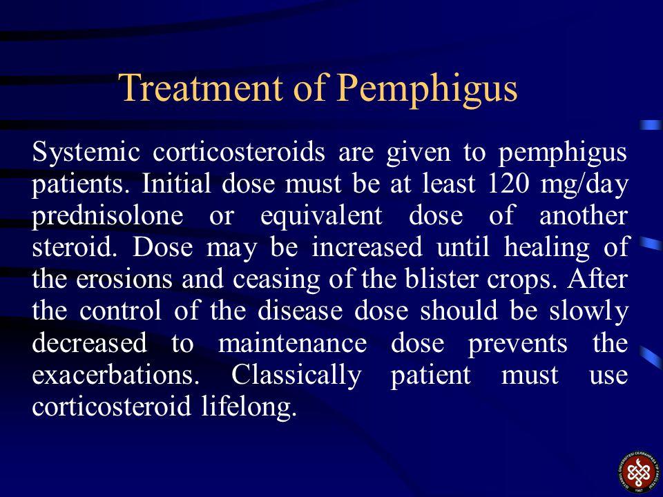 Treatment of Pemphigus