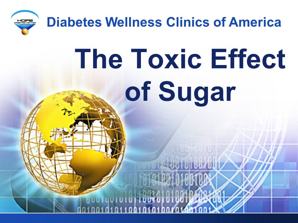 The Toxic Effect of Sugar
