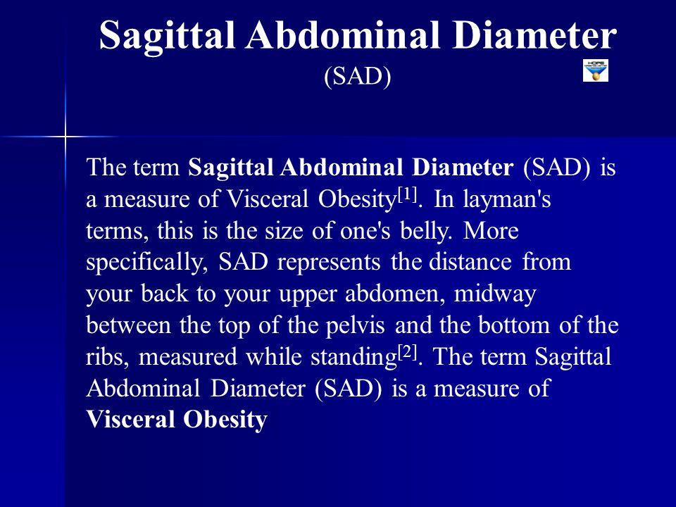 Sagittal Abdominal Diameter (SAD)
