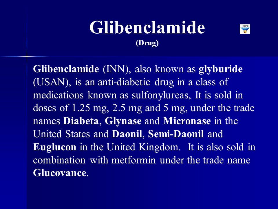 Glibenclamide (Drug)