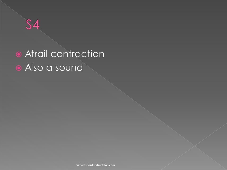 S4 Atrail contraction Also a sound vet-student.mihanblog.com