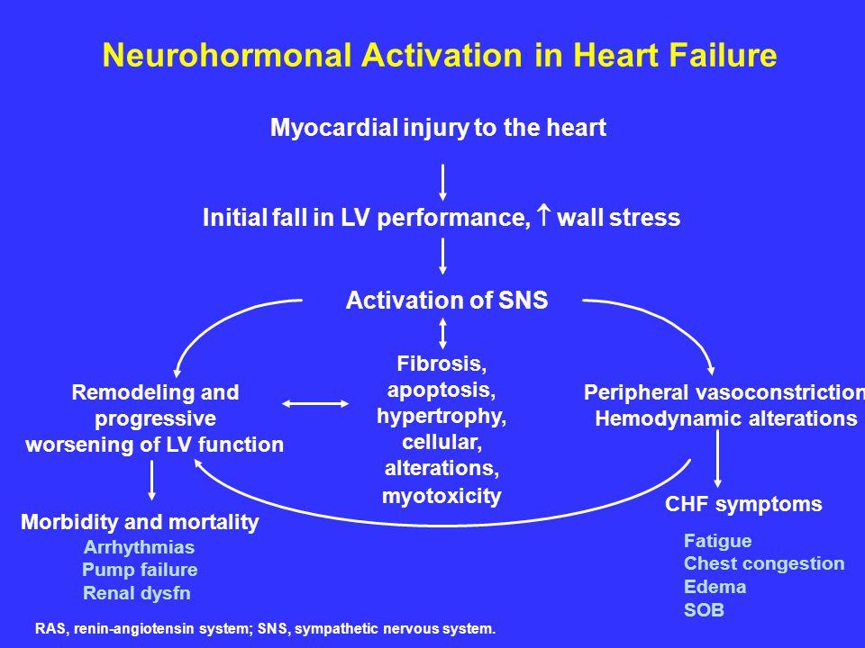 Neurohormonal Activation in Heart Failure