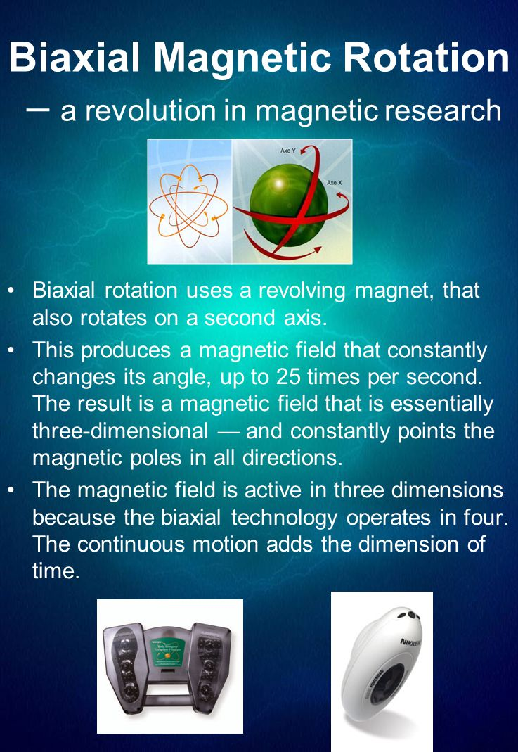Biaxial Magnetic Rotation – a revolution in magnetic research
