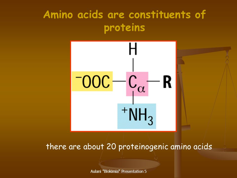 Amino acids are constituents of proteins