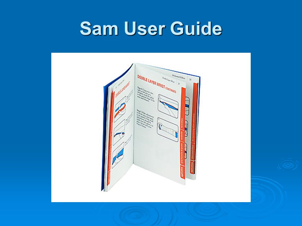 Sam User Guide