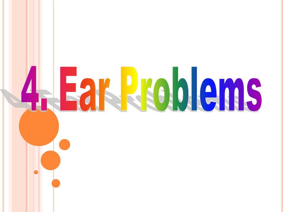 4. Ear Problems