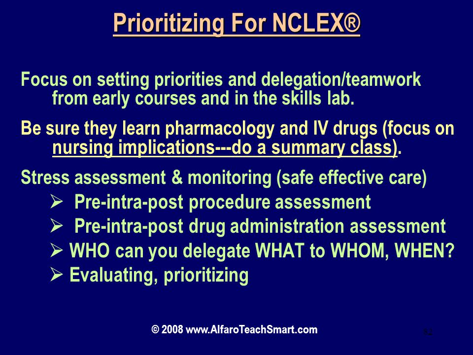 Prioritizing For NCLEX®