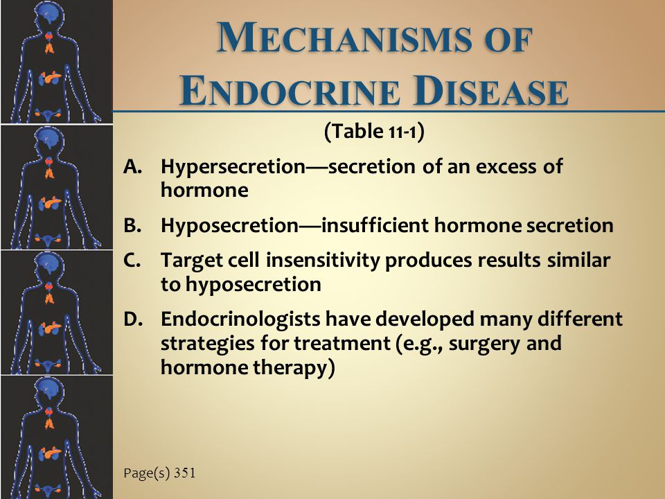 Mechanisms of Endocrine Disease