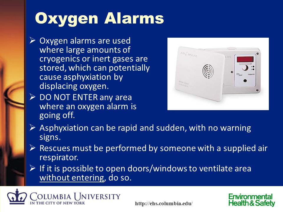 Oxygen Alarms