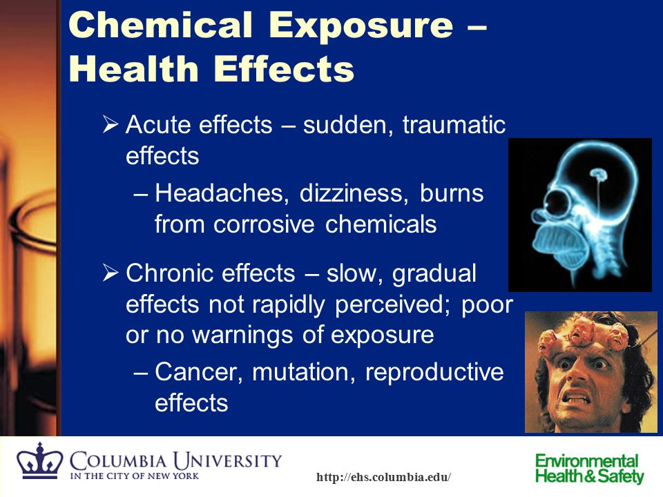 Chemical Exposure – Health Effects