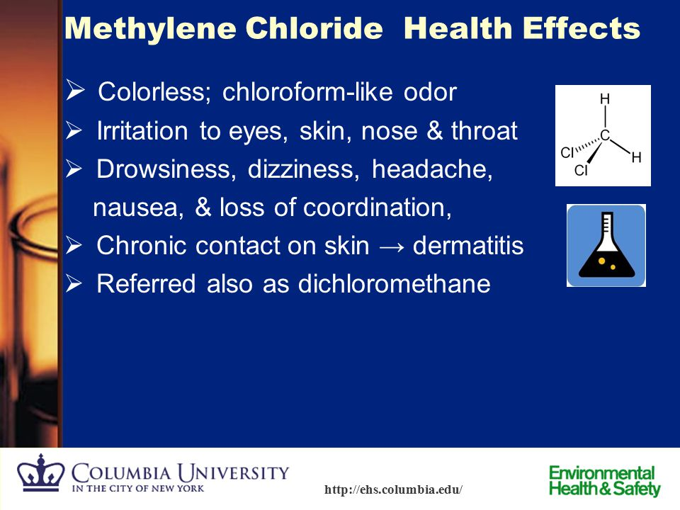 Methylene Chloride Health Effects