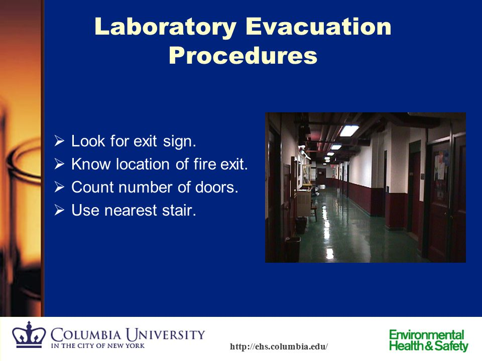 Laboratory Evacuation Procedures
