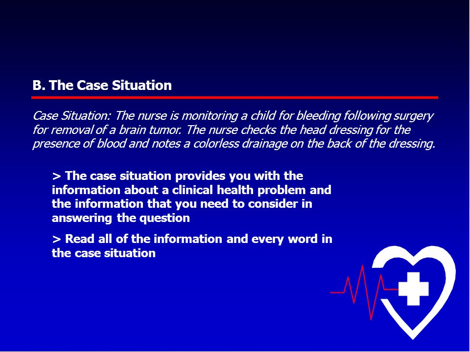 B. The Case Situation