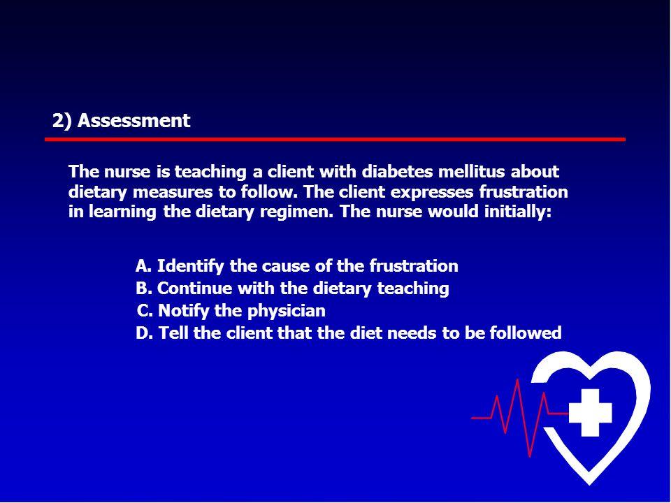 2) Assessment