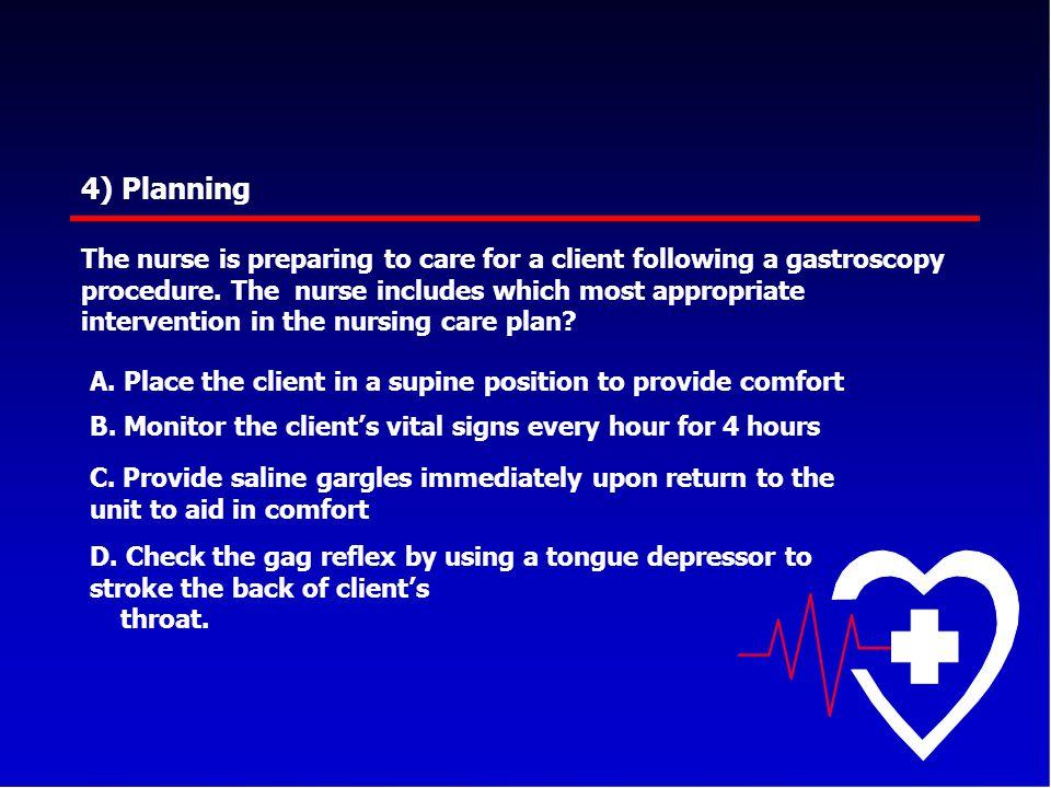 4) Planning