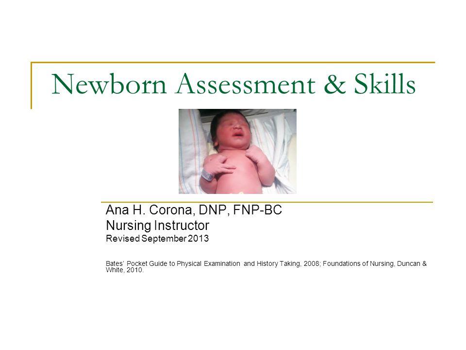 Newborn Assessment & Skills