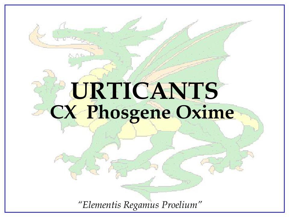 URTICANTS CX Phosgene Oxime