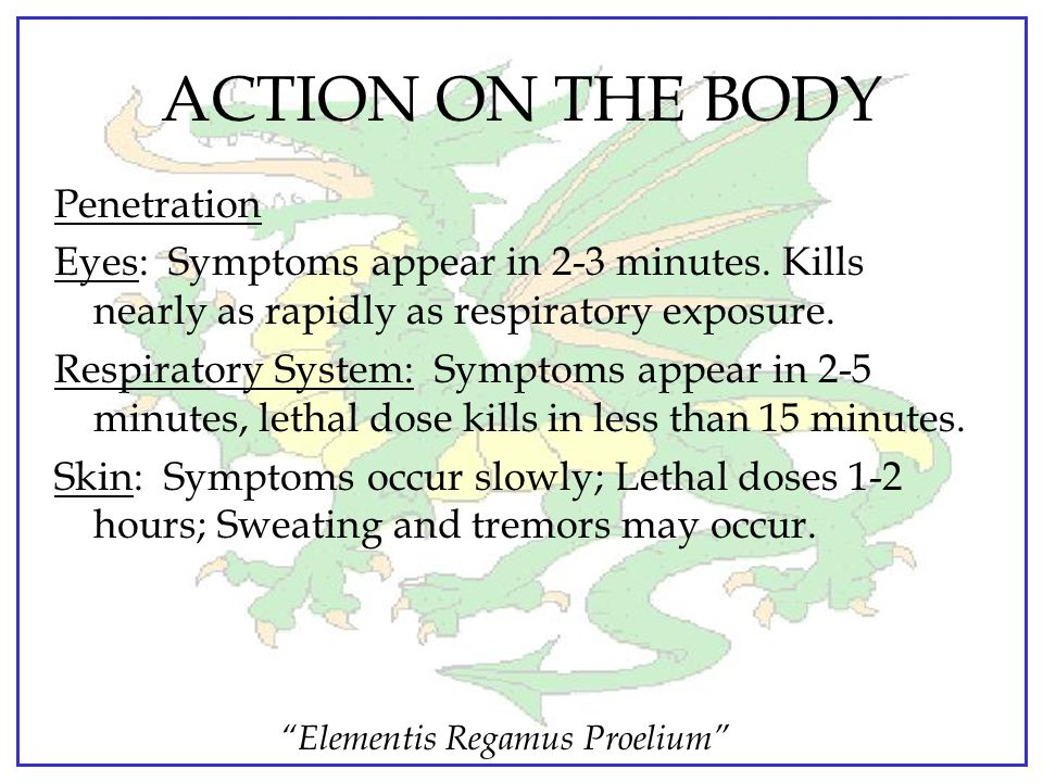 ACTION ON THE BODY Penetration