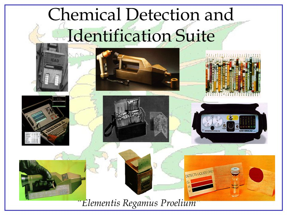 Chemical Detection and Identification Suite