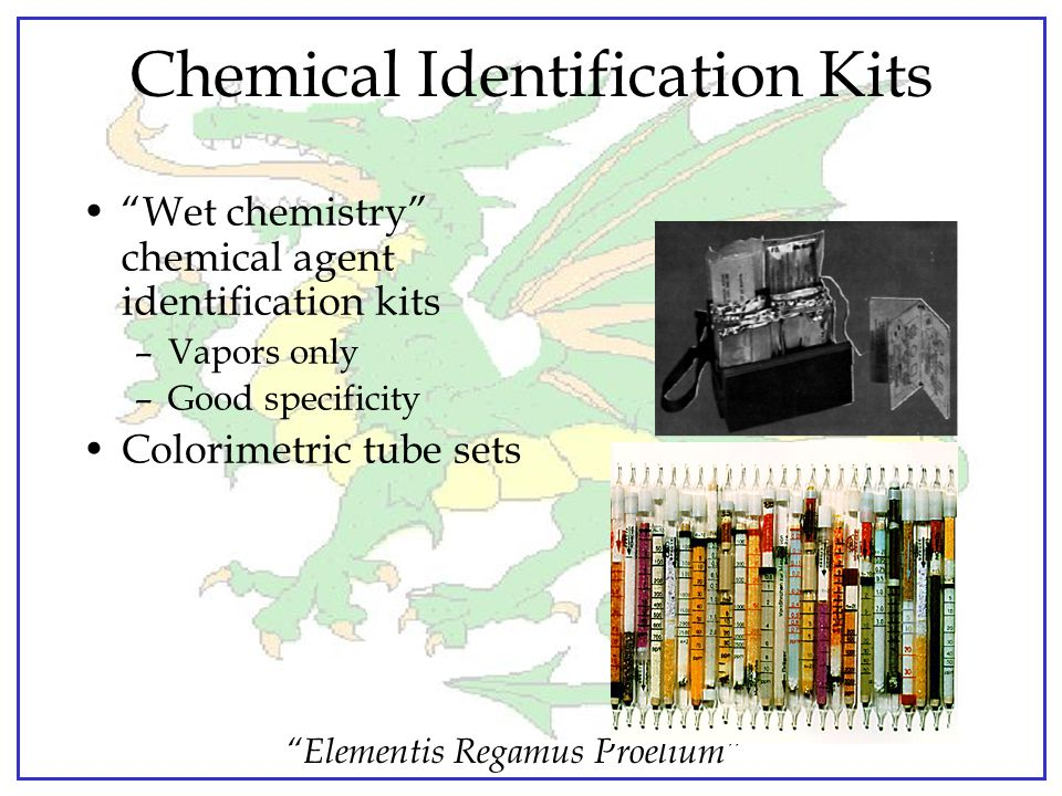 Chemical Identification Kits