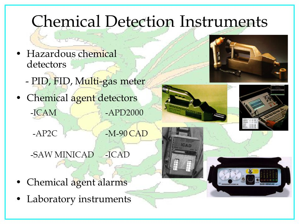Chemical Detection Instruments
