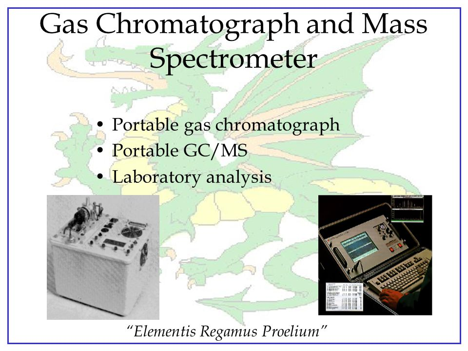 Gas Chromatograph and Mass Spectrometer