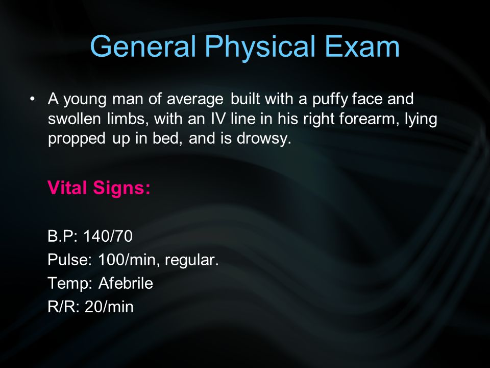 General Physical Exam