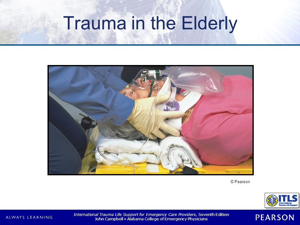 Overview Changes that occur with aging Assessment of geriatric trauma